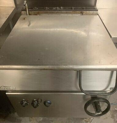 80 Litre Mareno Branded Gas  Fired Brat Pan With 10amp Electric Pilot Light.