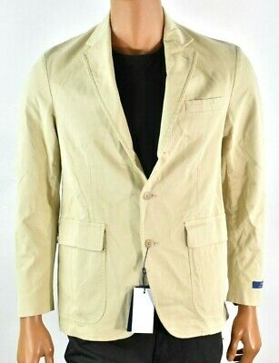 Polo Ralph Lauren Mens Beige Sports Coat Jacket New 40R 42R Chino Beige Party