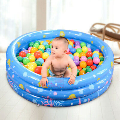 Large Family Swimming Pool Garden Round Summer Inflatable Kids Paddling Pools