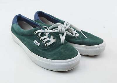 Vans Mens UK Size 6 Green Trainers
