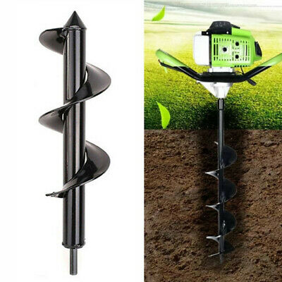 Digger Auger Drill Bits Black Bulb Planter Hand-Held Outdoor Accessories