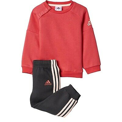 Adidas Infant Baby Girls Tracksuit Outfit Set age 9-12 months