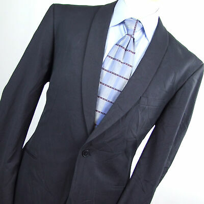 Limehaus Mens Grey Suit Jacket 44 (Regular)
