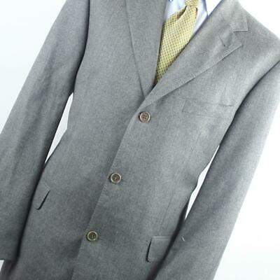 Hugo Boss Mens Grey Suit Jacket 42 Regular Wool Plain