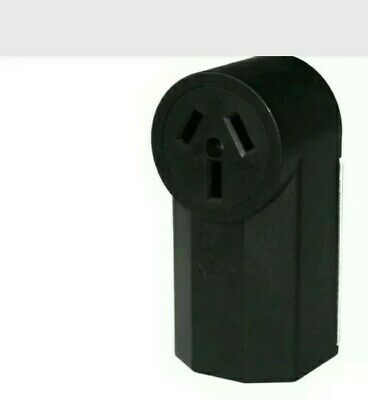 New 30 Amp Dryer Outlet Box . 3 Prong Round Surface Mount.