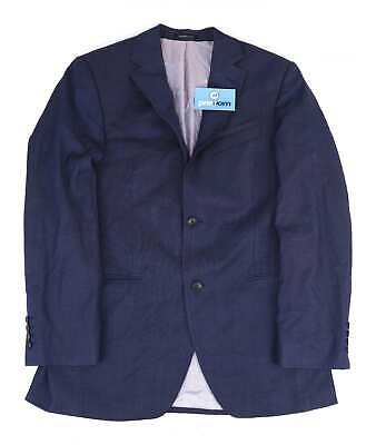 Austin Reed Mens Wool Blue Suit Jacket 40 Chest (Regular)