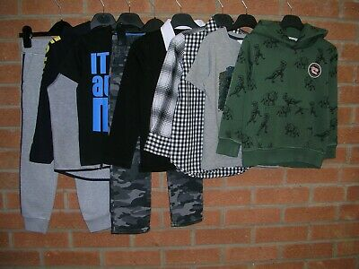 NEXT GAP H&M etc Boys Bundle Jeans T-Shirts Tops Joggers Jacket Age 4-5 110cm