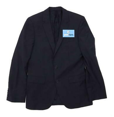 Hugo Boss Mens Wool Blend Blue Suit Jacket 34 Chest (Regular)