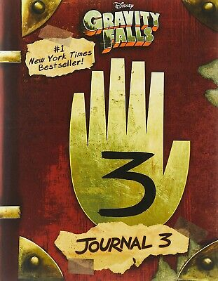 Gravity Falls Journal 3 by Rob Renzetti (English) Hardcover Book Fast Shipping!