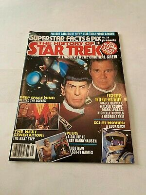 1993 Superstar Facts and Pix The History Of Star Trek Magazine Number 28