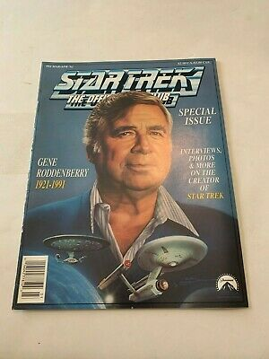 1992 Star Trek Magazine The Official Fan Club March/April