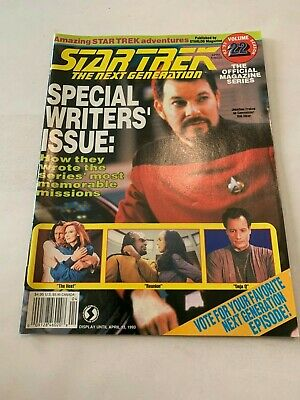 1993 Star Trek Magazine The Next Generation April