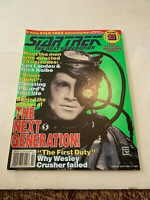 1993 Star Trek Magazine The Next Generation February