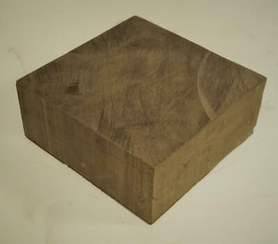 Nuclear Graphite Block TSX NCCo 6 x 6 x 2.5 Inches 5.7 Pounds