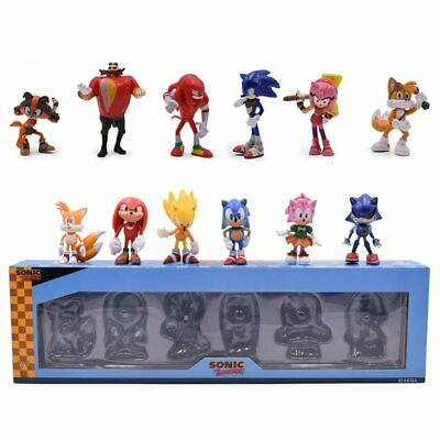 sonic the hedgehog cake topper figures