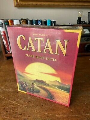 Catan Board Game(3071) Trade-Build-Settle NEW! FACTORY SEALED! FAST SHIP!