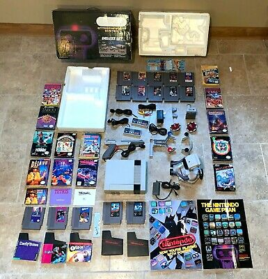 ROB The Robot Deluxe Set CIB Complete in Box Metroid Dr Mario 5-Screw Gyromite