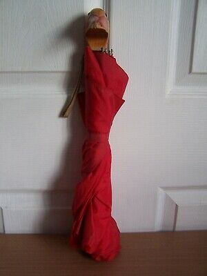 Vintage Grant Barnett Umbrella with Wooden Duck Head Handle & Strap