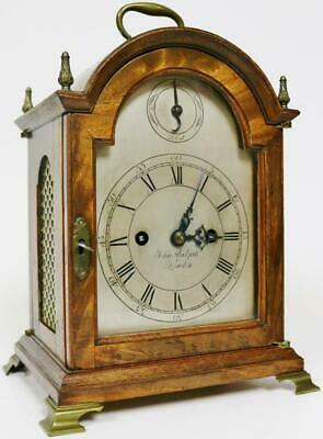 Super Antique English 18thC Arched Top Twin Fusee Verge Escapement Bracket Clock