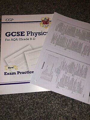 CGP GCSE Physics (Grade 9-1) Exam Practice Workbook (with ANSWERS)
