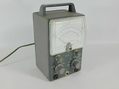 Heathkit V-7A Transistorized Voltmeter Test Equipment (looks great, untested)
