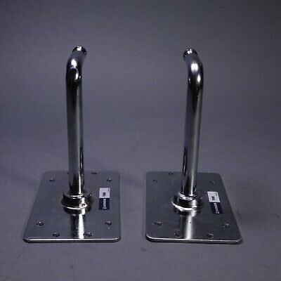Pair (2) Manfrotto Avenger F809 Baby Plates 90 Degree