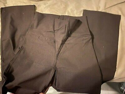 Mums the word Brown maternity long pants, (10) NWOT-cheap