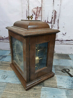 Vintage Antique Large Chiming Mantle Clock Perivale Made In England
