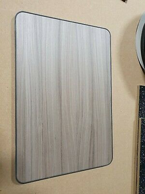 600mm x 400mm Campervan Motorhome Caravan Table Top DRIFTWOOD GREY Finish t-trim