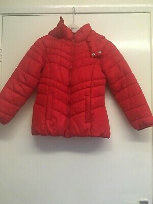 Girls Next Red Coat Age 10
