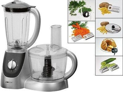 Unmissable Food Processor Blender Grater Display LCD 1000 Watts Slices