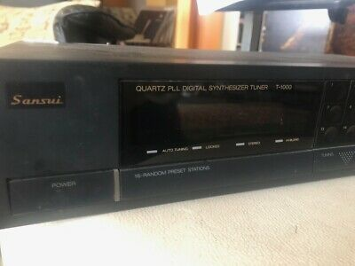 SanSui Stereo Tuner T-1000