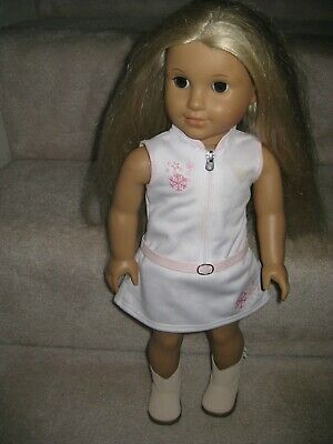American Girl Doll Julie Albright Wearing American Girl Outfit