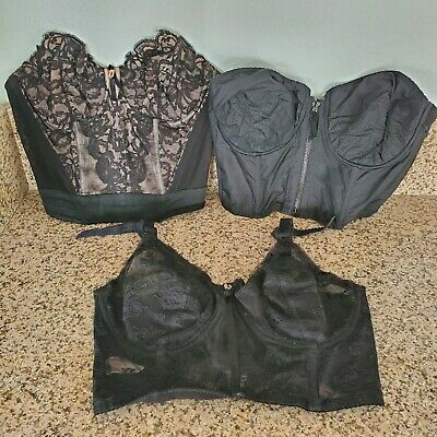 Lot Of 12 Vintage Bras 1950s - 1980s Hollywood Vassarette Christian Dior Lady