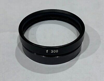 Carl Zeiss 300mm Surgical OPMI Microscope Objective Lens 48mm Thread