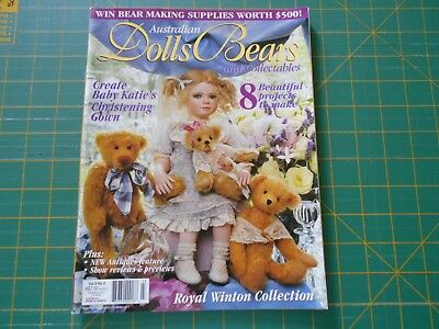 Australian Dolls Bears & Collectables Magazine - Vol 9 No 4 - Good Condition -