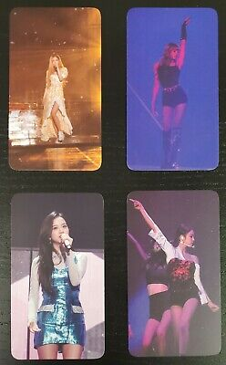 BLACKPINK 2018 Tour In Your Area Seoul DVD PreOrder Photocard Set