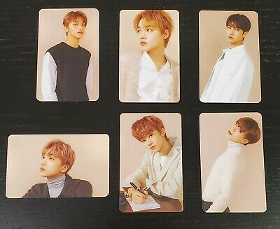 CHENLE DREAM TRANSPARENT CLEAR PHOTOCARD Nct Official 2020 Season's Greetings SM