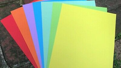 50 Sheets A4 Coloured printing paper 80gsm GREAT QUALITY GREAT VALUE