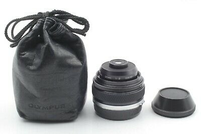 【Rare N. MINT】 Olympus OM SYSTEM Zuiko Auto Macro 20mm f/2 Lens From Japan #104