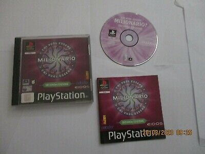 Milionario Seconda Ps1 Psx Pal Ita Black Label Sony Playstation 1 No Ps2  Ps 2 3