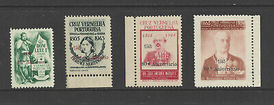 [Portugal 1945 - The 80th anniversary of the Portuguese Red Cross] complete MNH
