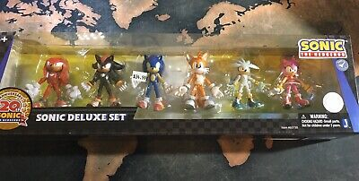 Sonic The Hedgehog 20th Anniversary Set New Articulated Figures By Jazwares Rare 499 00 Picclick