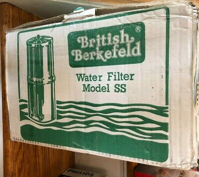 British Berkefeld Water Filter SS.