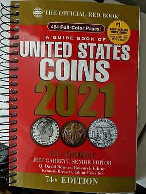 New 2021 Whitman U.S. Red Spiral Coin Book