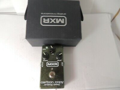 MXR Carbon Copy M169 Analog Delay Effects Pedal Free USA Shipping