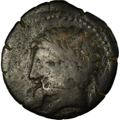 [#499924] Coin, Numidia (Kingdom of), Massinissa or Micipsa, Bronze Æ