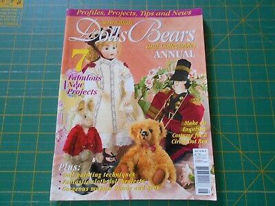Australian Dolls Bears & Collectables Magazine - Vol 12 No 5 - Good Condition -