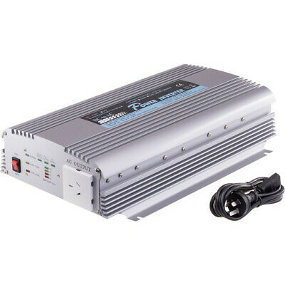 PIN1000C DOSS 1000W 12Vdc-240Ac Inverter With Battery/Solar Inputs 12V 3A