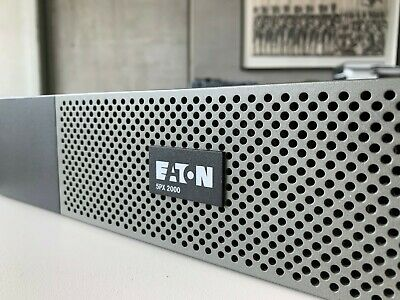 ••• No Reserve - Eaton UPS - 5PX 2000VA + Eaton SNMP Web Monitoring + rack kit••